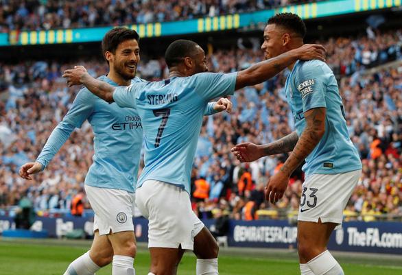 Đoạt Cúp FA, Man City hoàn tất cú ăn ba lịch sử - Ảnh 2.