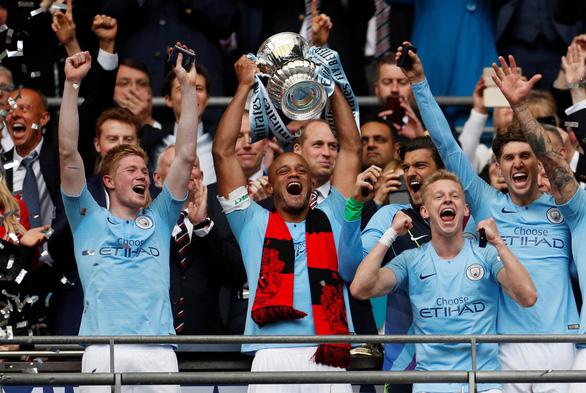 Đoạt Cúp FA, Man City hoàn tất cú ăn ba lịch sử - Ảnh 3.