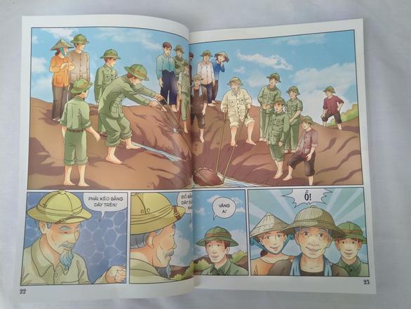 Lần đầu tiên phát hành bộ truyện tranh màu về Bác Hồ - Ảnh 4.