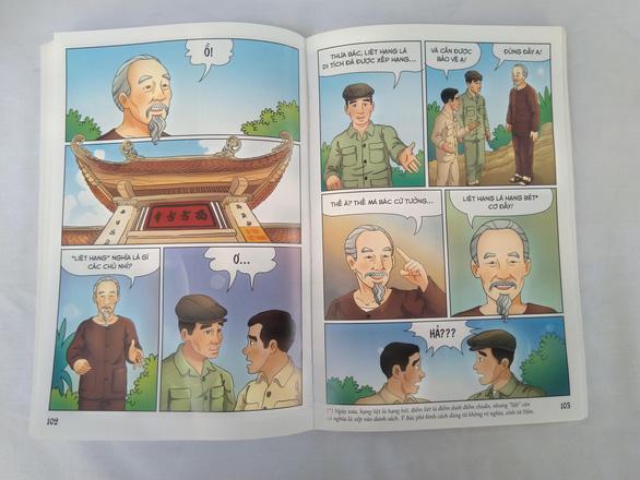 Lần đầu tiên phát hành bộ truyện tranh màu về Bác Hồ - Ảnh 5.