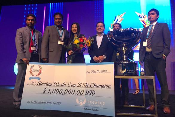 Startup Việt lần đầu giành giải thưởng triệu đô ở đấu trường quốc tế - Ảnh 1.