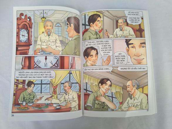 Lần đầu tiên phát hành bộ truyện tranh màu về Bác Hồ - Ảnh 6.