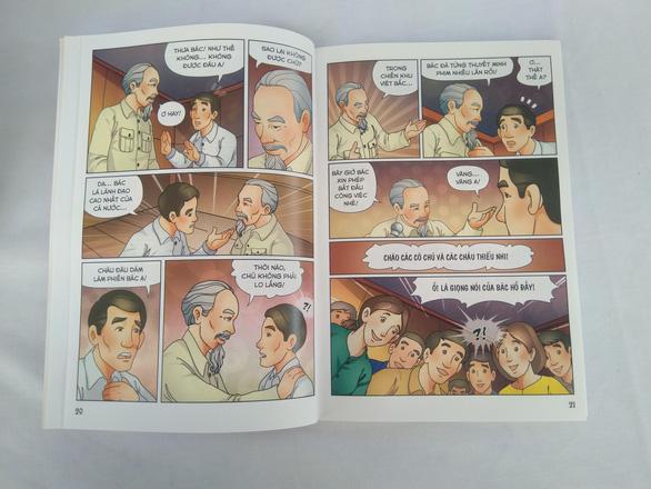 Lần đầu tiên phát hành bộ truyện tranh màu về Bác Hồ - Ảnh 7.