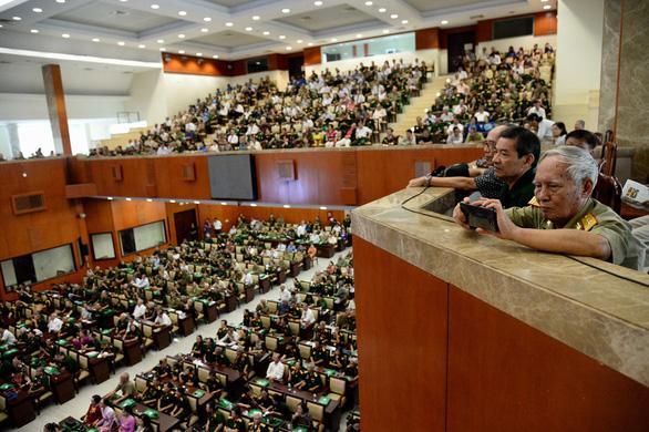 Cuộc hội ngộ xúc động của gần 1.000 cựu binh bộ đội Trường Sơn - Ảnh 1.