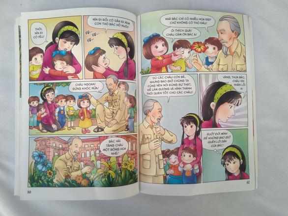 Lần đầu tiên phát hành bộ truyện tranh màu về Bác Hồ - Ảnh 2.