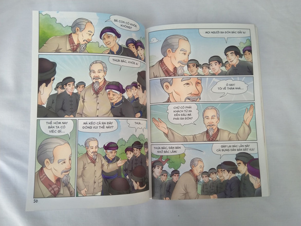 Lần đầu tiên phát hành bộ truyện tranh màu về Bác Hồ - Ảnh 8.