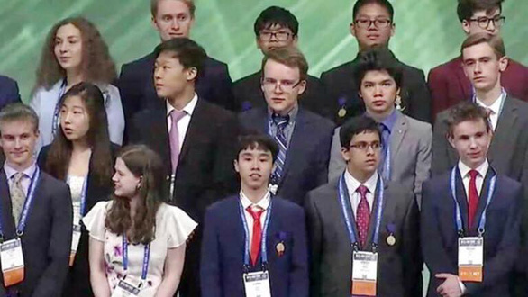 Một học sinh Việt Nam đoạt giải ba Hội thi khoa học kỹ thuật quốc tế - Ảnh 1.
