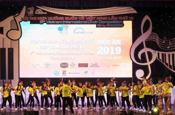 Indonesia đoạt giải quán quân Hội thi Hợp xướng quốc tế Việt Nam - Ảnh 1.