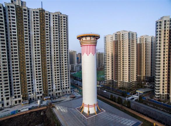 Bi hài chiêu che giấu ô nhiễm của quan chức Trung Quốc - Ảnh 3.