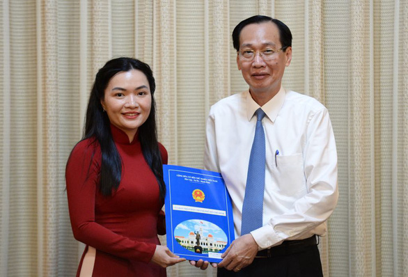 Bà Võ Thị Ngọc Thúy làm phó giám đốc Sở Du lịch TP.HCM - Ảnh 1.
