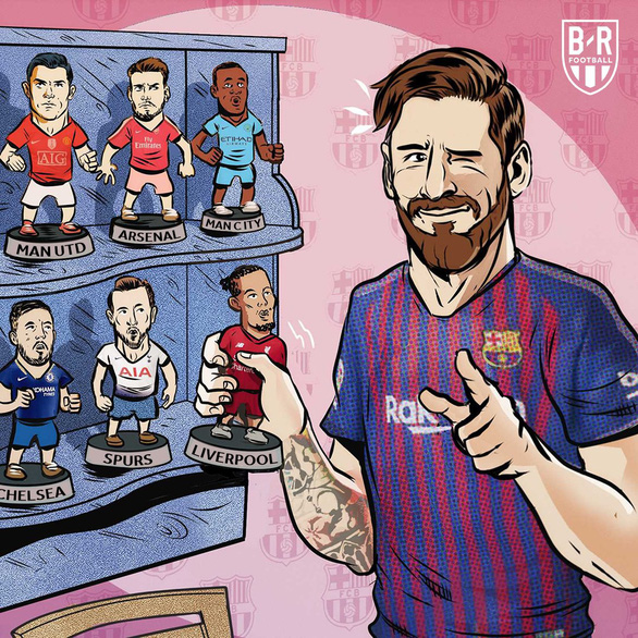 Cộng đồng mạng tung hô Messi, dìm hàng Salah - Ảnh 10.