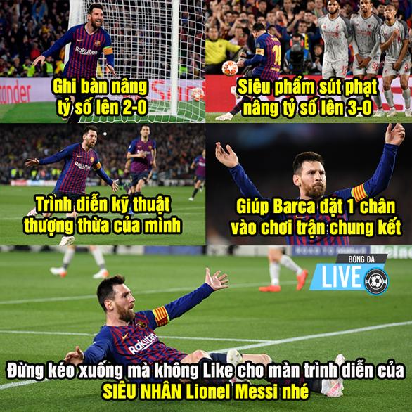 Cộng đồng mạng tung hô Messi, dìm hàng Salah - Ảnh 8.
