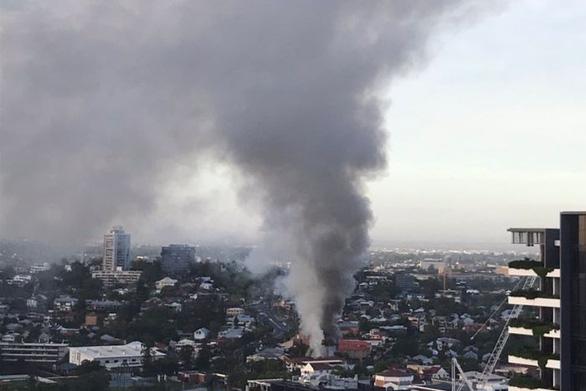 Cháy lớn ở Úc, phá hủy ngôi nhà di sản ở Brisbane - Ảnh 4.