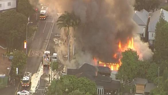 Cháy lớn ở Úc, phá hủy ngôi nhà di sản ở Brisbane - Ảnh 7.