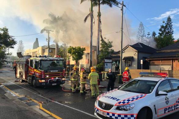 Cháy lớn ở Úc, phá hủy ngôi nhà di sản ở Brisbane - Ảnh 3.