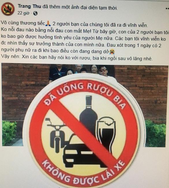 Dân mạng đổi avatar, coi say xỉn lái xe là tội ác - Ảnh 3.