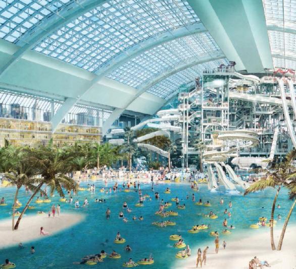 Phan Thiết sắp khởi công công viên nước trong nhà - Ảnh 4.