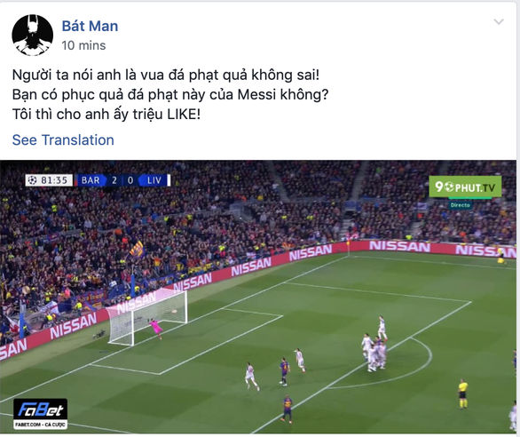 Cộng đồng mạng tung hô Messi, dìm hàng Salah - Ảnh 7.