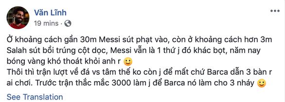 Cộng đồng mạng tung hô Messi, dìm hàng Salah - Ảnh 4.