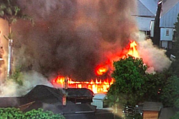 Cháy lớn ở Úc, phá hủy ngôi nhà di sản ở Brisbane - Ảnh 6.