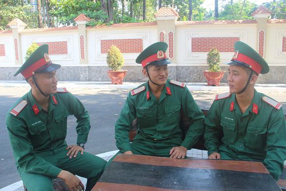 Lính tuyển của Tiểu đoàn vệ binh 180 - Ảnh 1.