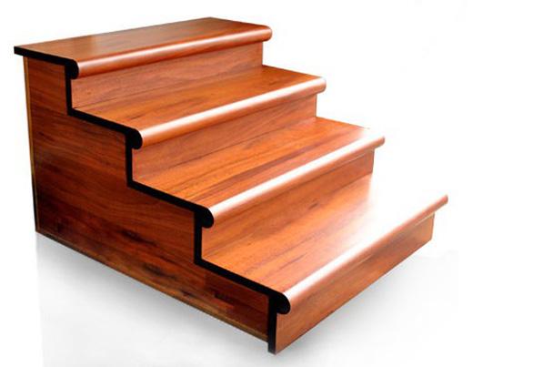 Có nên lát cầu thang bằng gỗ công nghiệp? - Ảnh 2.