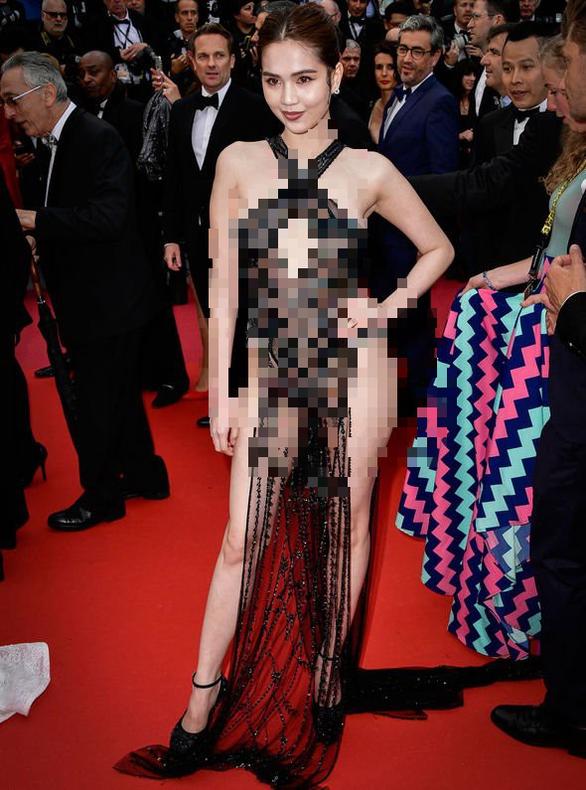 Bộ Văn hóa nói gì về chuyện Ngọc Trinh mặc phản cảm ở Cannes? - Ảnh 2.