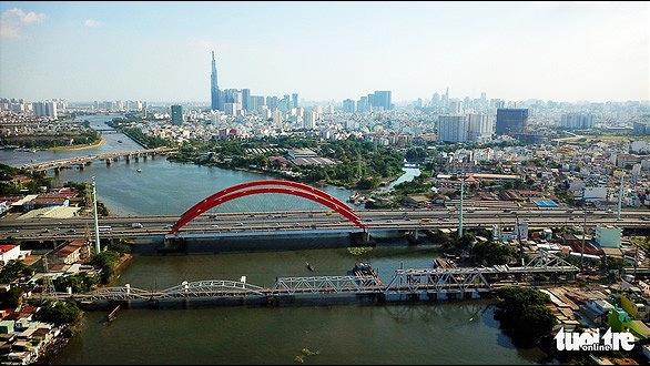 Đề nghị bảo tồn nguyên trạng một phần cầu đường sắt Bình Lợi - Ảnh 1.