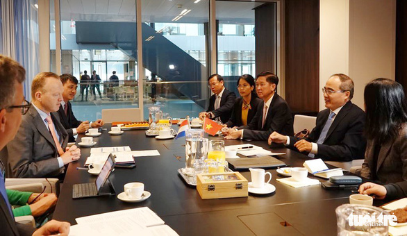 TP.HCM ký hợp tác chống ngập bền vững với Hà Lan - Ảnh 1.