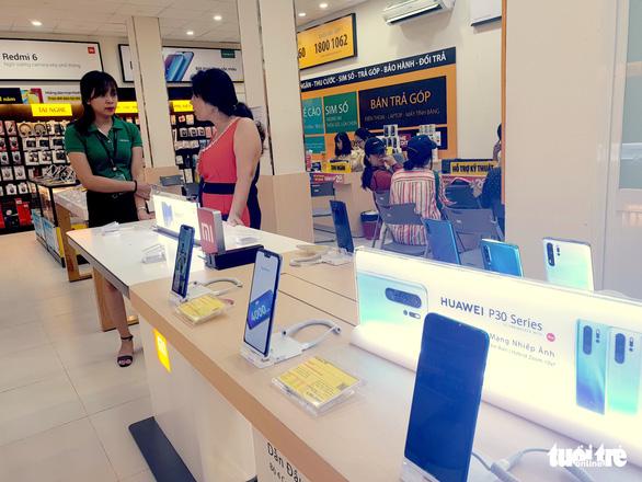 Điện thoại Huawei ở Việt Nam bị trả giá bèo bọt - Ảnh 1.
