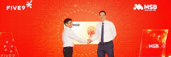 MSB ứng dụng trí tuệ nhân tạo trong việc mở thẻ tín dụng - Ảnh 1.