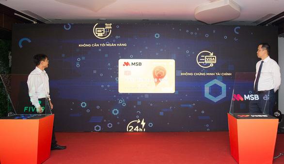 MSB ứng dụng trí tuệ nhân tạo trong việc mở thẻ tín dụng - Ảnh 2.