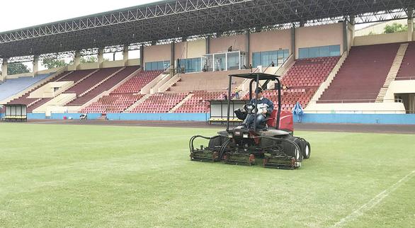 U23 Việt Nam đá giao hữu với U23 Myanmar trên sân Việt Trì - Ảnh 1.