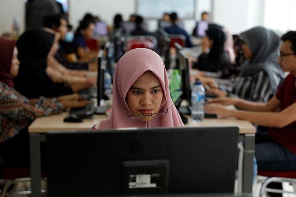 Ông Joko Widodo tái đắc cử tổng thống Indonesia với 55,5% phiếu bầu - Ảnh 2.