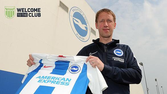 Brighton & Hove Albion cướp HLV Graham Potter từ tay Swansea City - Ảnh 1.