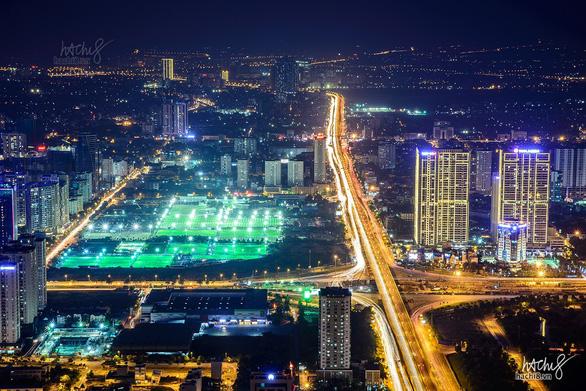 Ngắm Hà Nội và những thành phố nổi tiếng thế giới từ trên cao - Ảnh 2.