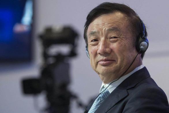 Nhà sáng lập Huawei nói đủ sức tạo con chip tốt như Mỹ - Ảnh 1.