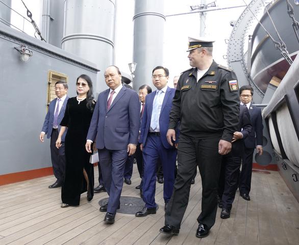 LB Nga tổ chức lễ đón chính thức Thủ tướng Nguyễn Xuân Phúc  - Ảnh 4.