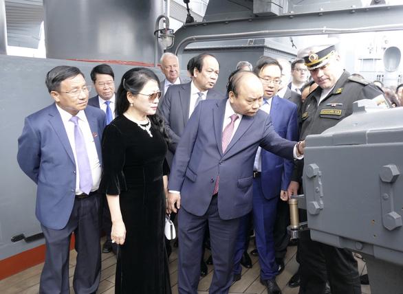 LB Nga tổ chức lễ đón chính thức Thủ tướng Nguyễn Xuân Phúc  - Ảnh 5.