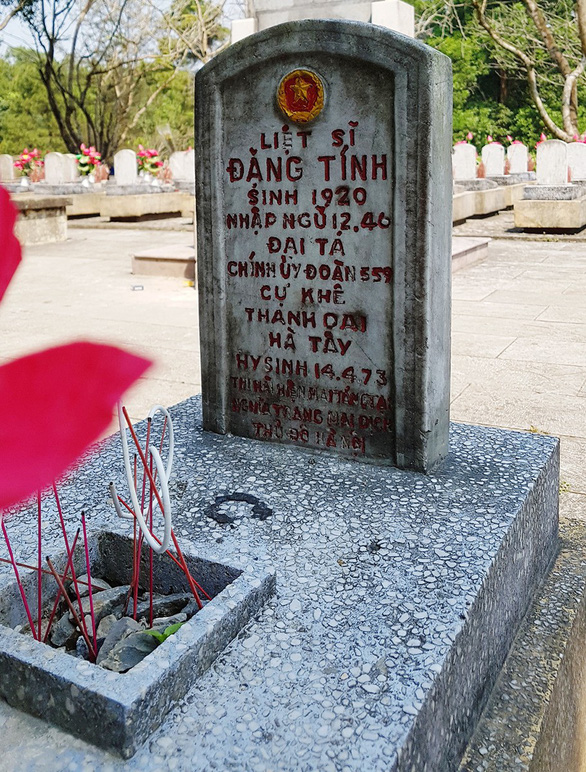 60 năm đường Trường Sơn - Kỳ 4: Nơi liệt sĩ nằm lại - Ảnh 3.