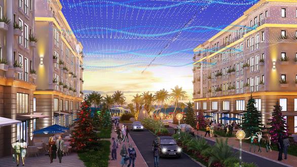 Đầu tư sinh lời kép với shophouse, villa mặt tiền biển tại The Hamptons Plaza Hồ Tràm - Ảnh 1.