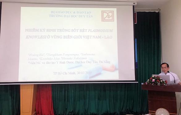 Nhà khoa học ĐH Duy Tân giành giải nhì về điều trị y khoa lâm sàng - Ảnh 1.