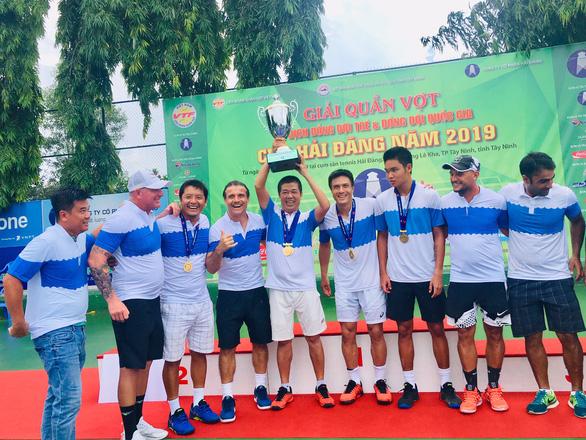 Quần vợt Việt Nam hưởng lợi từ xã hội hóa - Ảnh 1.