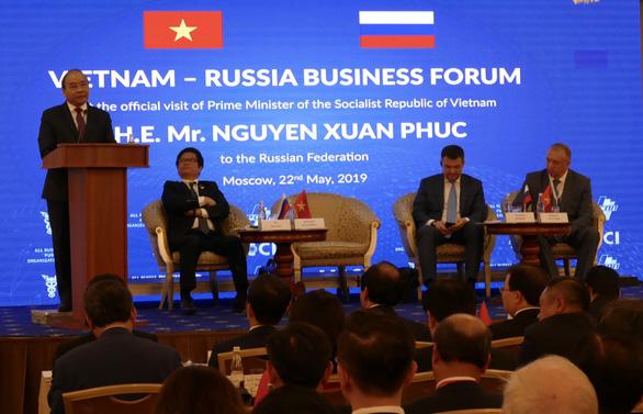 Phấn đấu kim ngạch Việt - Nga 10 tỉ USD vào năm 2020 - Ảnh 1.