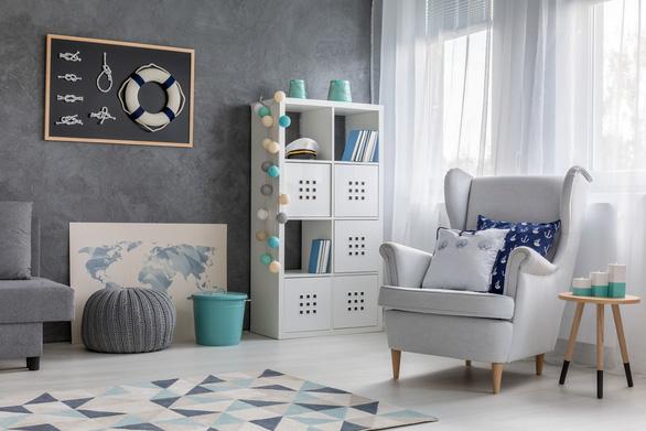 6 mẹo trữ đồ trong phòng khách từ chuyên gia thiết kế nội thất - Ảnh 3.