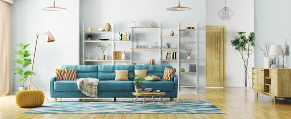 6 mẹo trữ đồ trong phòng khách từ chuyên gia thiết kế nội thất - Ảnh 4.