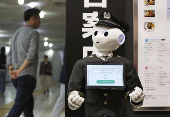 Nhật đưa robot hướng dẫn khách ở ga Tokyo - Ảnh 3.