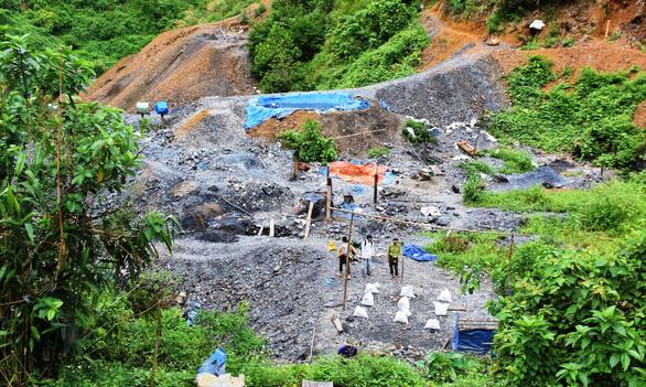 Một phu vàng tử vong tại hầm vàng ở Quảng Nam - Ảnh 1.