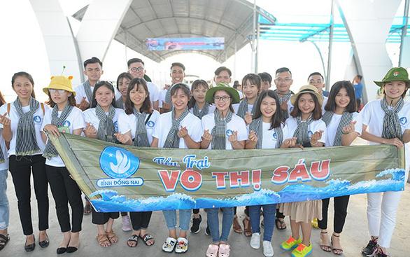 400 đại biểu tới Côn Đảo dự Sinh viên với biển đảo Tổ quốc - Ảnh 3.