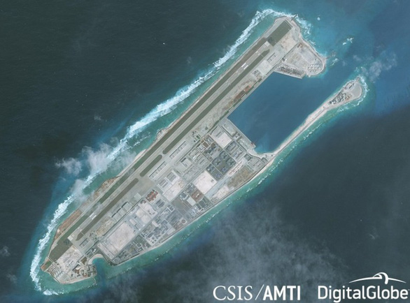 13 nghị sĩ Mỹ trình dự luật trừng phạt Bắc Kinh quân sự hóa Biển Đông - Ảnh 2.
